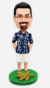 Custom Custom Hawaii bobbleheads with turtle